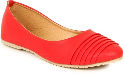 Lovely Chick Lovely Chick Red Women Casual Ballerinas Ab-Pletes-Red Casual Shoe