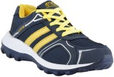 Athlio Running Shoes (Blue, Yellow)