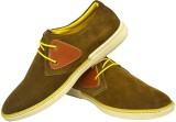 Human Steps Premium Suede Leather Sneake...