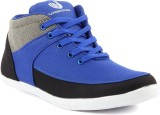 Platinum Peacock Casual Shoes (Blue)