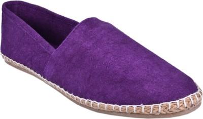 Aartisto Purple Men's Espadrilles Canvas Shoes