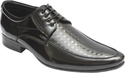 Jon Duglas Patent Leather Designer Lace Up Shoes