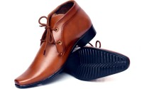 Buenos Original Tan Lace Up Shoes(Tan)