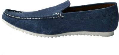 Molessi Denim Blue Loafers