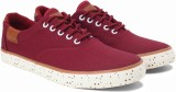 Lotto Canvas Shoes (Maroon)
