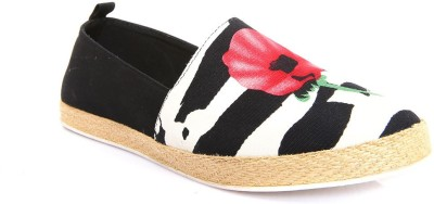 AQ Jayla Printed Canvas Espadrilles Casual Shoes