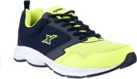 Sparx Trendy Navy Blue Running Shoes(Navy, Green)