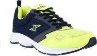 Sparx Trendy Navy Blue Running Shoes(Navy, Green)