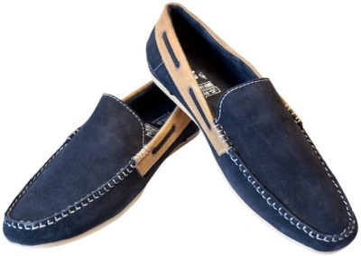 Ajanta Black Loafers Loafers