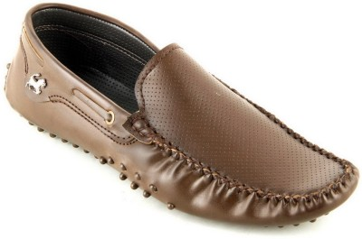Faces By Devils Xanthus Brown Loafers