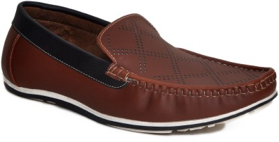 Stylox Brown Loafers