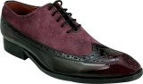 Entice CHERRY OXFORD Corporate Casuals (...