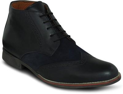Get Glamr Designer Brogue Boots