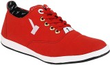 Kenamin Canvas Shoes (Red)