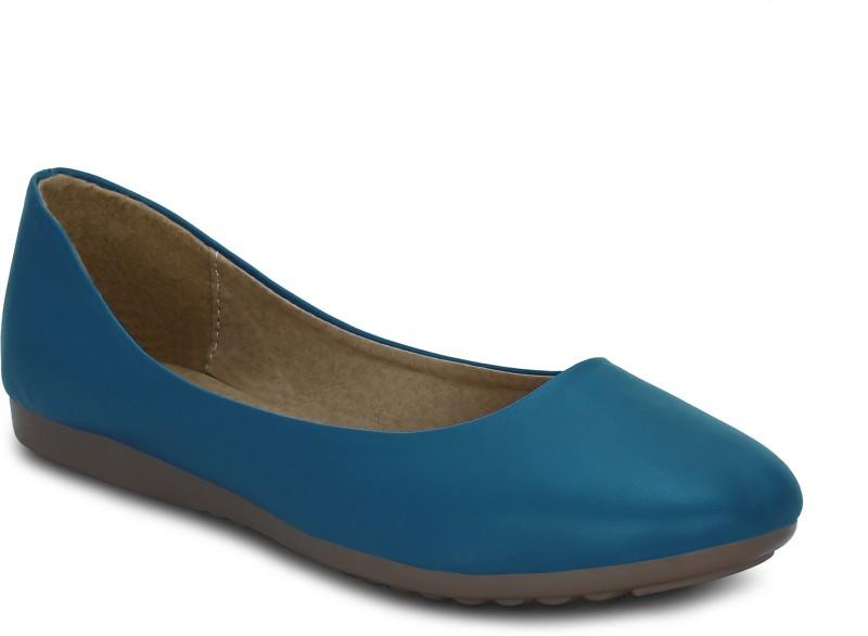 Kielz Flat Blue Comfort Bellies Slip On