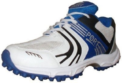 Port T20 Blue Stud Synthetic Cricket Shoes