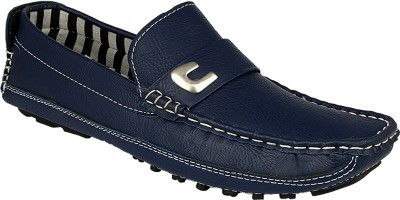 D61 2108 Blue Loafers