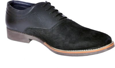 Alwin Suede Leather Corporate Casual Shoes