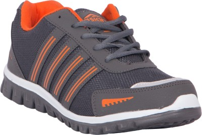 Asian Shoes Jump03 Walking Shoes(Grey, Orange)