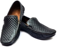 Vogue Guys Black Loafers