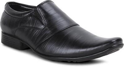 Get Glamr Black Men's Slip On Shoes