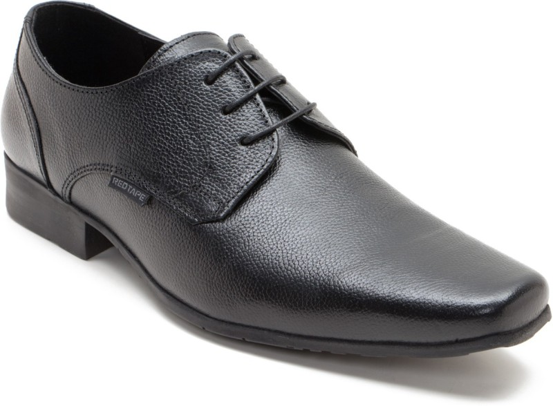 Red Tape RTE0031 Lace UpBlack Men Black All buy at best and lowest price in India