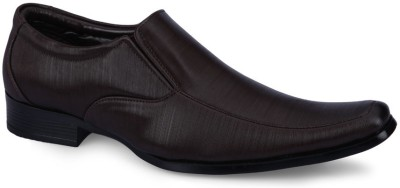 F9 1016 Brown Slip On Shoes