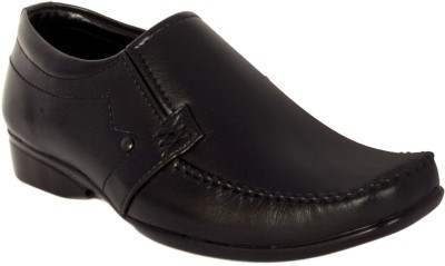 Merashoe MSF8011-Black Slip On Shoes