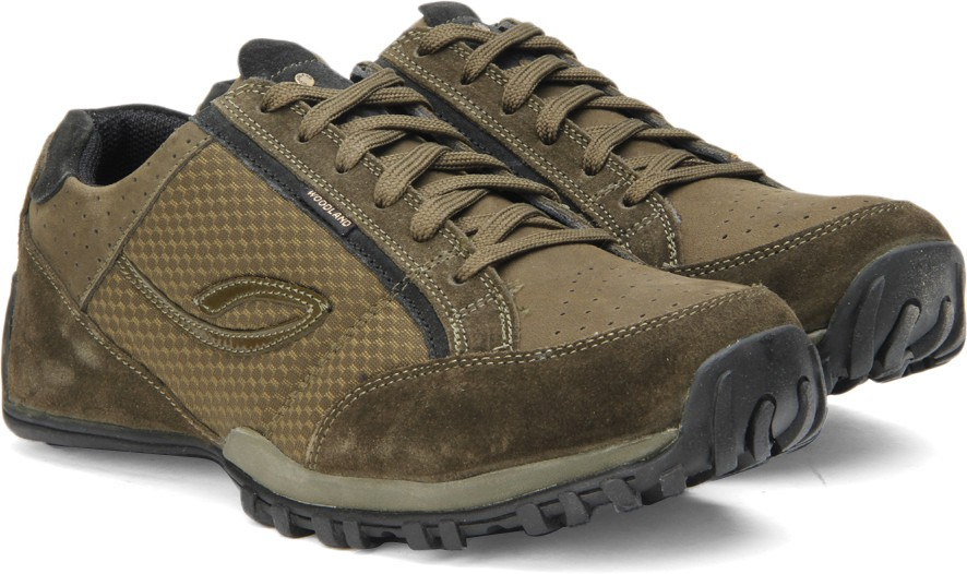 Woodland Outdoor Shoes(Olive)