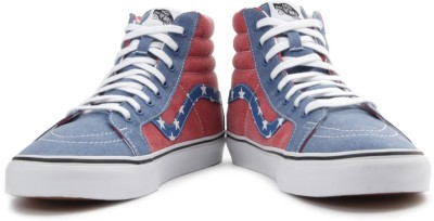 VANS Men Sneakers(Blue, Red)