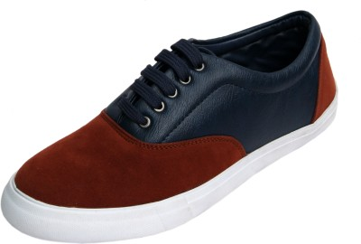 Molessi Molessi Orange Blue Lifestyle Sneaker Shoes Casuals