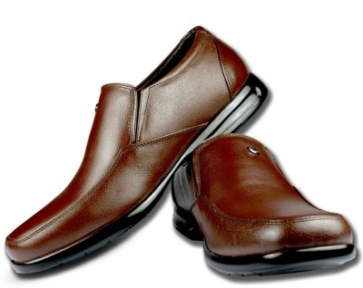 Blue Harpers High Comfort Brown Slip On Shoes