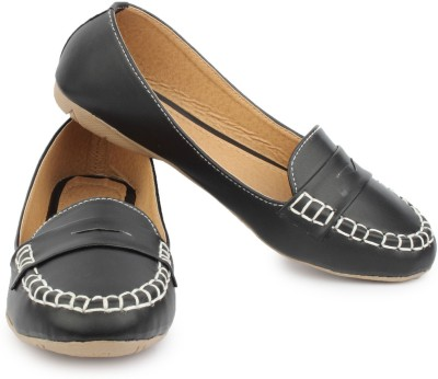 Naisha Loafers(Black) at flipkart