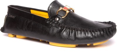DaMochi Black/Yellow Casual Shoes