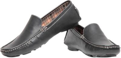 Pede Milan L 17-Black Loafers