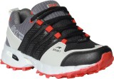 Gcollection Running Shoes (Black, Red)