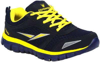 Twd Eva09 Navy Yellow Running Shoes