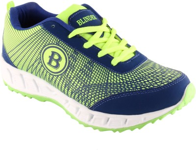 Blinder Men's CR-002-P.GRN-N.BLUE Running Shoes