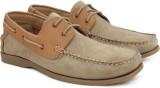 Ruosh Boat Shoes (Tan)