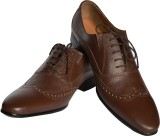 Stride Magnate Lace Up Shoes (Brown)
