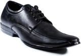 Zapatoz Black Diplomat Lace Up (Black)
