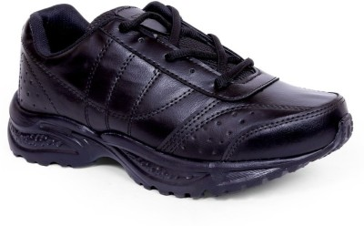 TOUCHWOOD Sparklite Black Sports Running Shoes