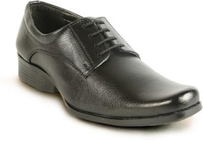 Calaso 02 Black Lace Up Shoes