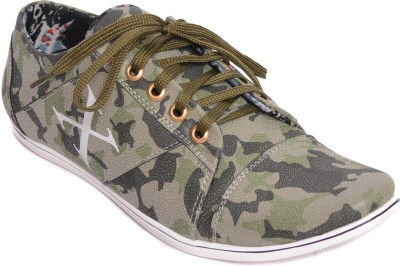 Kamil Green Casual Shoes