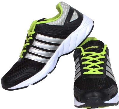 Tracer Srs-Eclipse-33 Black/Green Casual Shoes