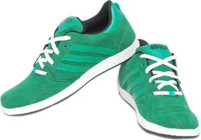Pede Milan Enfield-Green Casual Shoes