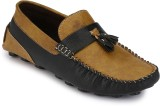 Braavosi Tassels Loafers (Black, Tan)
