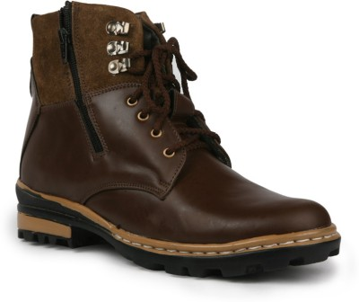 Bacca Bucci Outlander men brown Boots(Brown)