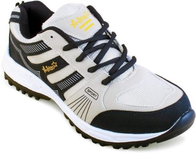 Shoe Island Sturdy Grey ,n, Blue Sport Shoes Training & Gym Shoes