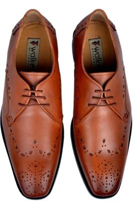 Walker Styleways Elegant Derby Brogue Lace Up Shoes